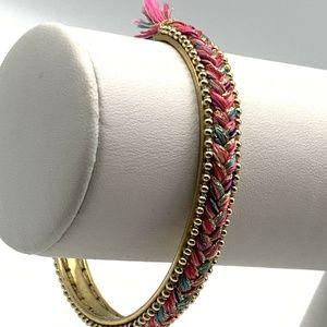 Stella & Dot Wanderer Braided Cuff Bracelet
